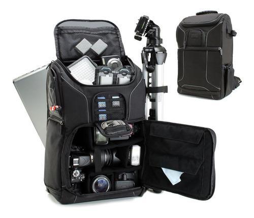 Digital mochila cámara digital slr con compartimiento lapto
