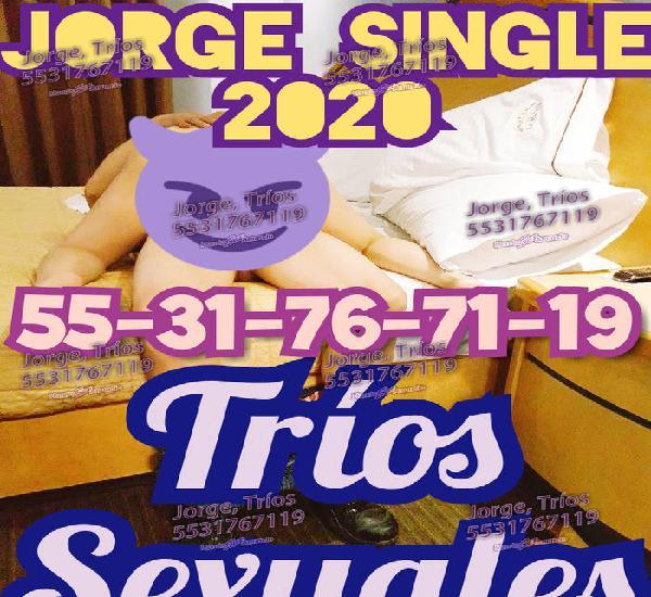JORGE HOMBRE PARA TRÍOS CON PAREJAS 2020