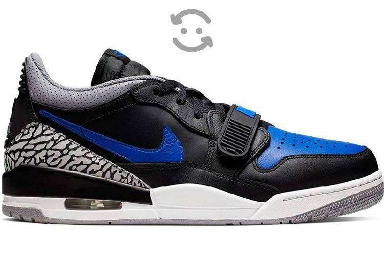 Jordan legacy 312 low black/royal blue