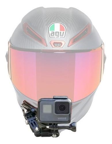 Kit gopro para casco moto mentón 3m frontal envio gratis