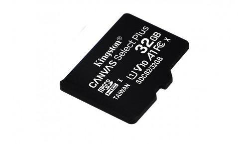 Memoria micro sd kingston 32gb uhs i cl10 con adaptador