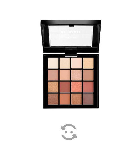 Paleta de sombras con 16 tonos naked 3 ultimate