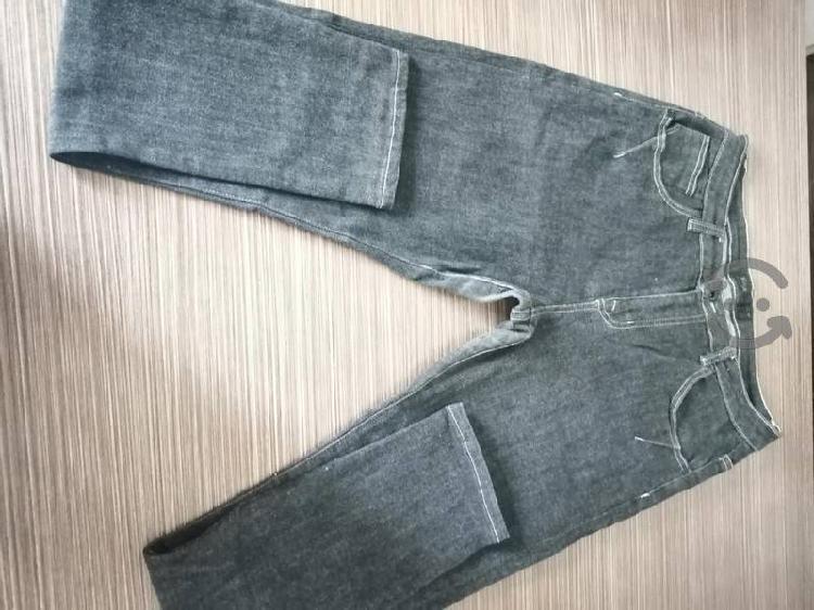 Pantalones de mezclilla gris talla 32