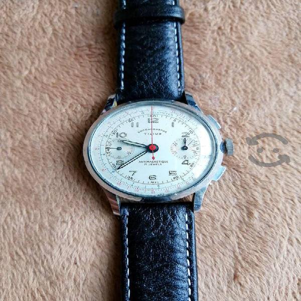Reloj suizo cronografo maquina de cuerda 188