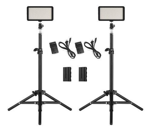 Set de 2 luces led para cámara andoer w228