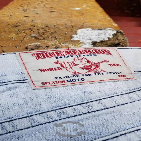 """True religión"""" pantalón caballero original."""