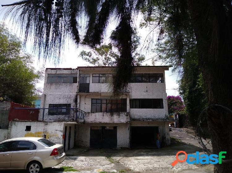 Terreno habitacional en venta en tetelpan, álvaro obregón, distrito federal