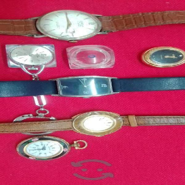 Lote de relojes antiguos