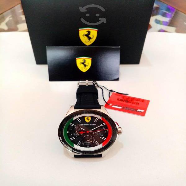 Reloj ferrari gran premio de mexico f1