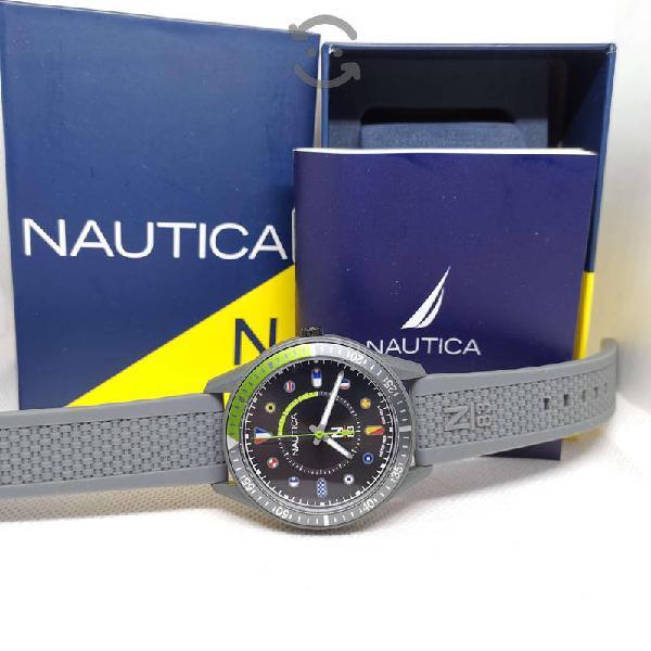Reloj nautica nuevo original con caja
