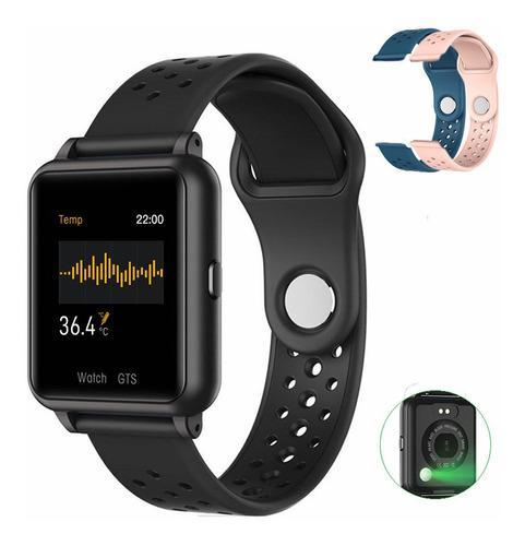 Reloj inteligente con monitor de temperatura par android/ios