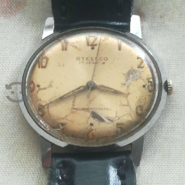 Reloj steelco de cuerda vintage