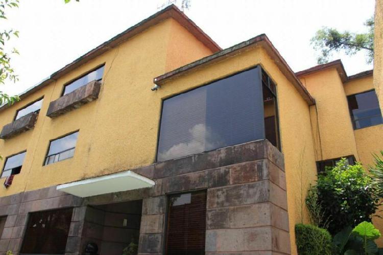 Super amplia! casa en venta magdalena contreras, cdmx