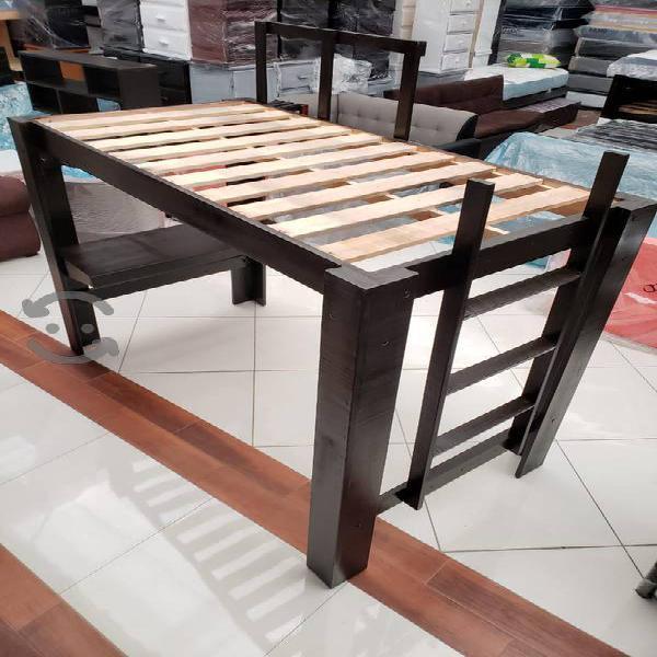 Camarote con escritorio tamaño individual