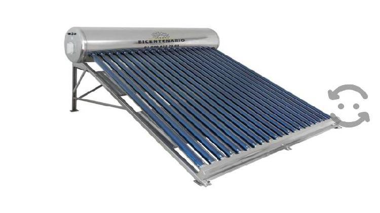 Calentador solar 7 personas 250 lts bicentenario