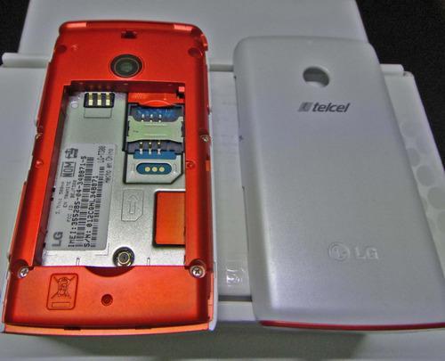Celular lg t-300 antiguo (telcel y movistar) + regalitos