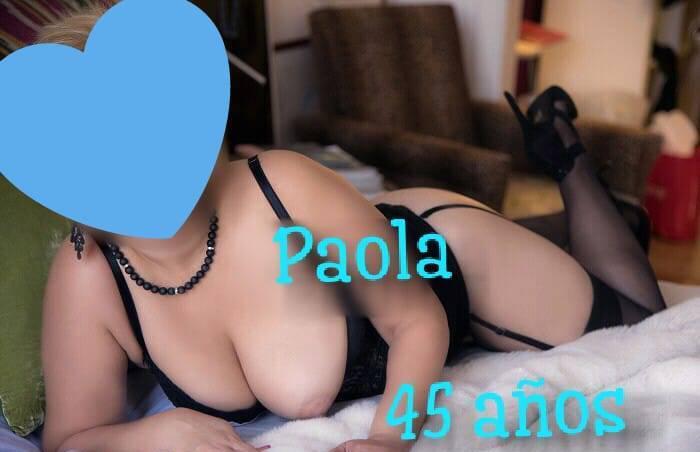 Paola 45 años SOLO MOTELES Y HOTELES..$600 Y $800