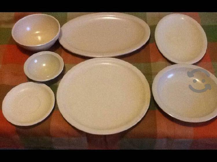 Platones y platos melamina para tu casa o negocio