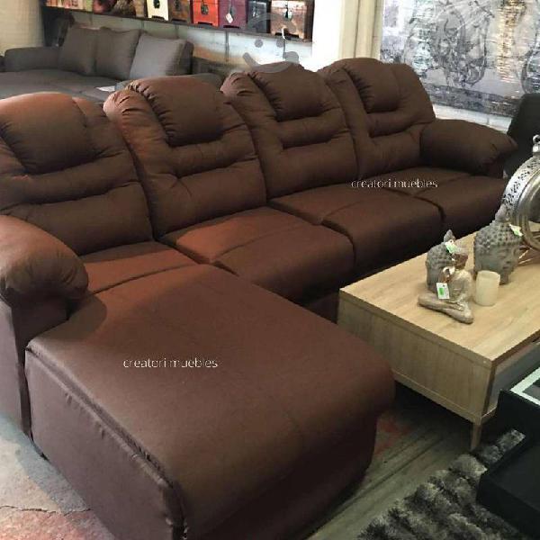 Sala diván sillón love seat con un reclinable