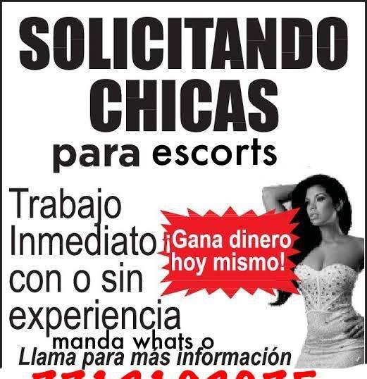 Se solicita chicas en Pachuca