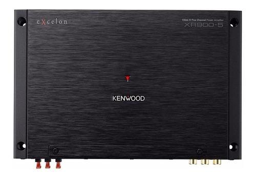 Amplificador clase d 5 canales 900 w kenwood excelon xr900-5
