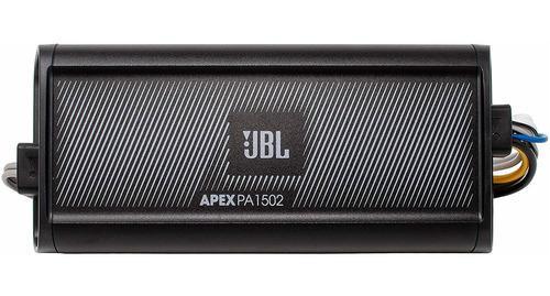 Amplificador jbl 300w dos canales apex pa1502