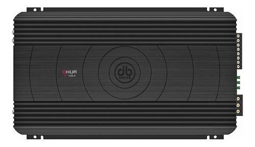 Amplificador para medios db drive a7 125.4 4 canales claseab
