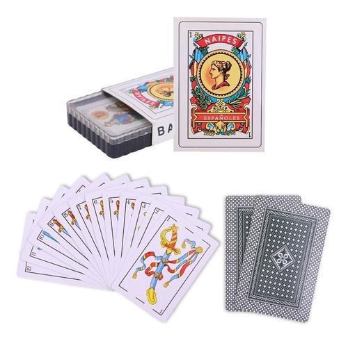 Baraja española juego de cartas naipes