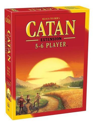 Catan juego cartas de mesa de familiar fiesta 5-6 jugadores