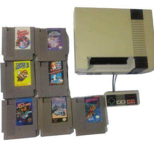 Consola nintendo nes con juegos clásicos original