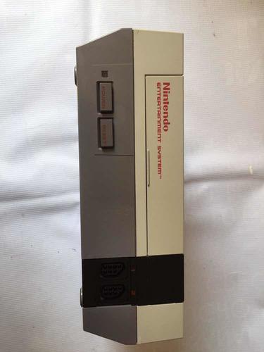 Consola nintendo nes original 1985, 2 controles, 9 juegos