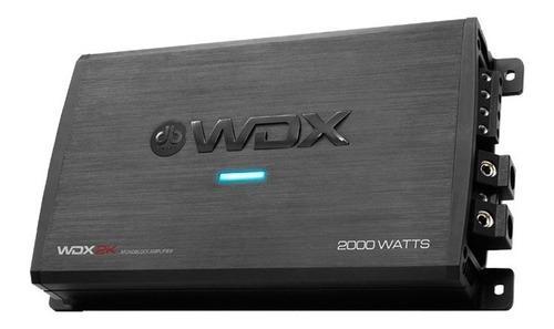 Db drive wdx2k amplificador monoblock clase d 2000w