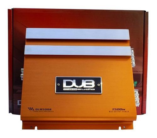 Fuente dub de 2 canales de 1500 watts max. potencia dub5002.