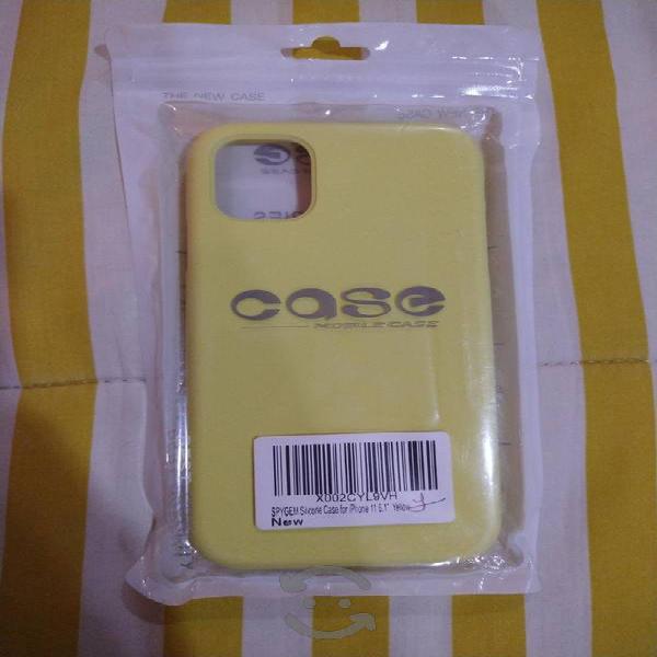 Funda silicóna líquida iphone 11