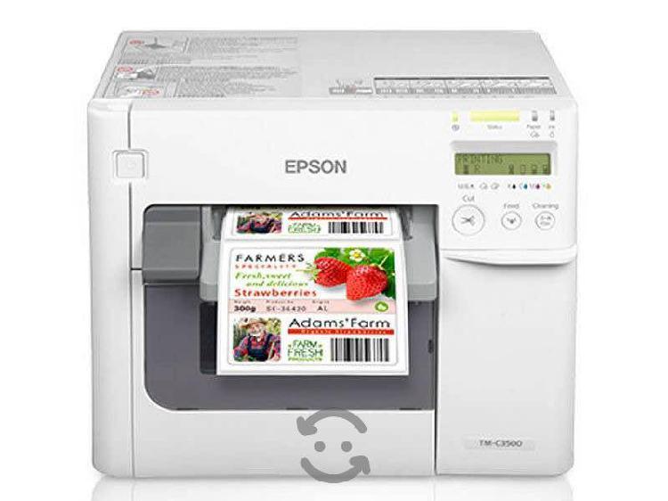 Impresora etiquetas a color epson tm c3500