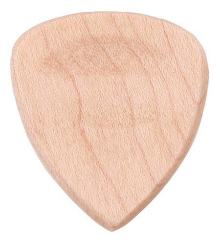 Instrumentos musicales de madera de arce con forma de