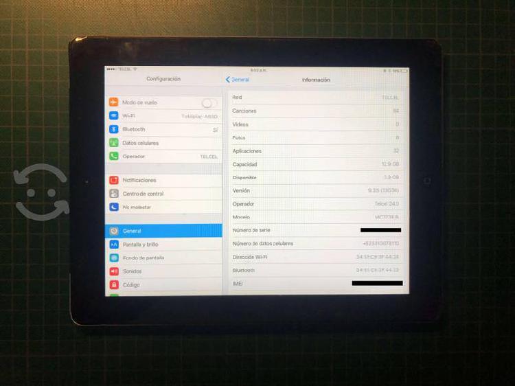 Ipad 2 16 gb, wifi + 3g