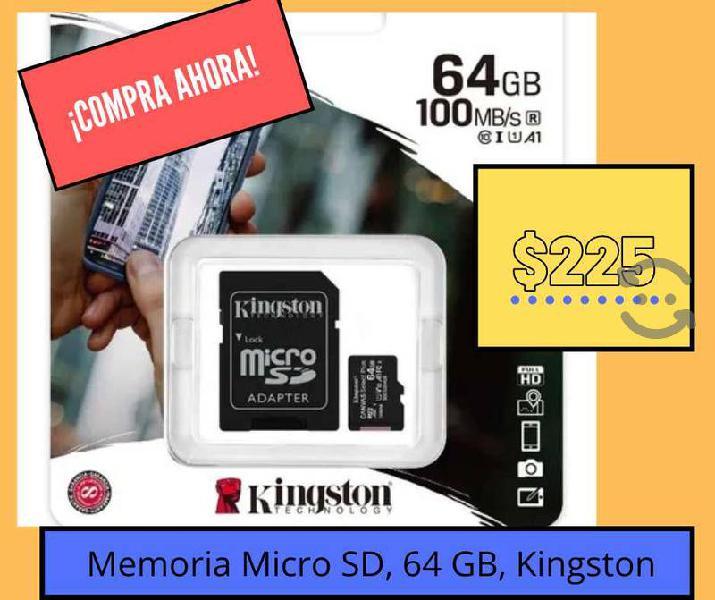Memorias micro sd 64 gb