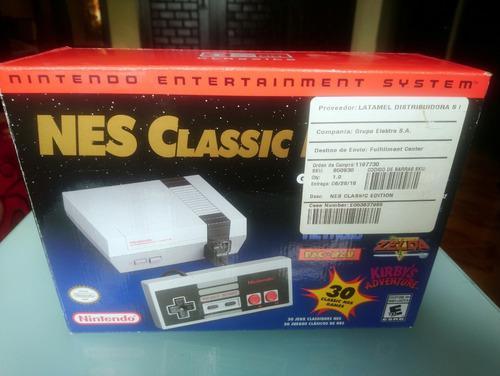 Nintendo mini nes classic edición limitada seminuevo