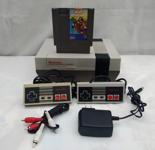 Nintendo nes consola retro