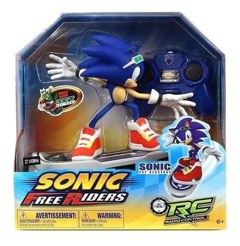 Sonic radio control remoto free riders hedgehog boom patinet