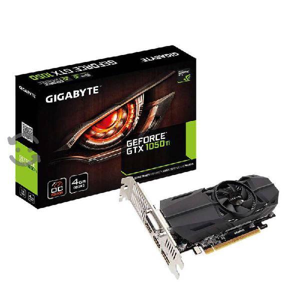Tarjeta de video gigabyte nvidia gtx 1050 ti nueva