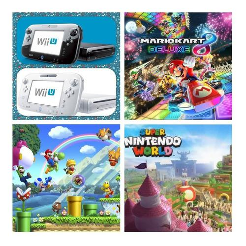 Wii u 350 juegos+5000 clásicos,wii, gamecube, nes,snes y