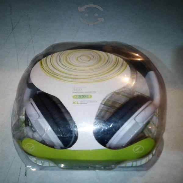 Audífonos de diadema para xbox 360 con microfono