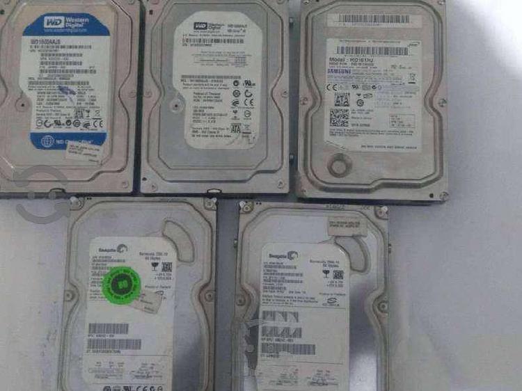 Discos duros sata 3.5 80 y 160 gb