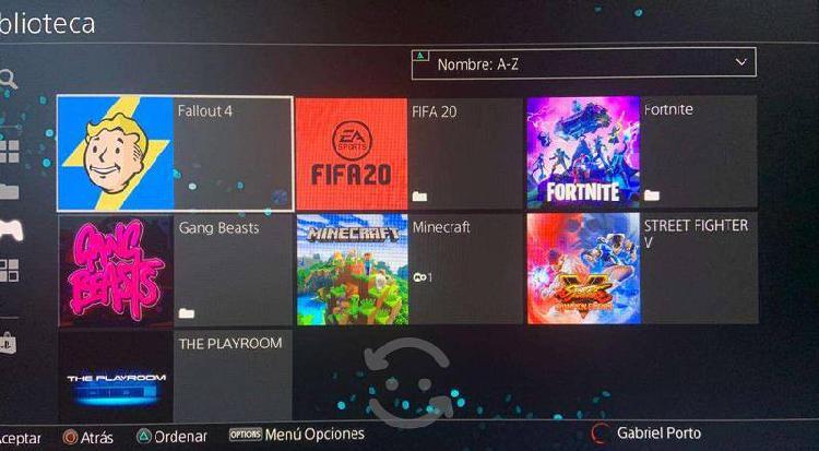 Cuenta de ps4 con juegos incluidos