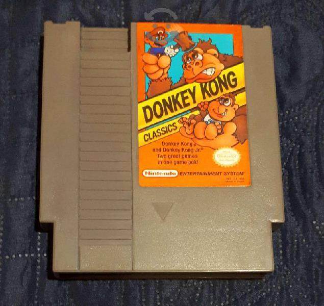 Donkey kong classics para nes