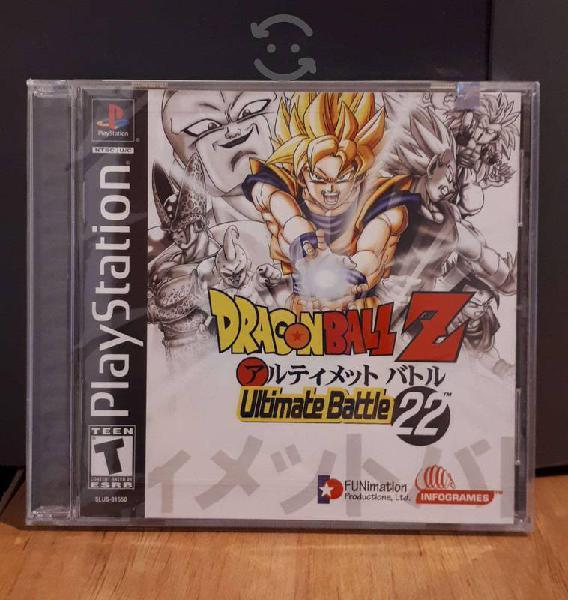 Dragon ball ultimate battle 22 nuevo-sellado