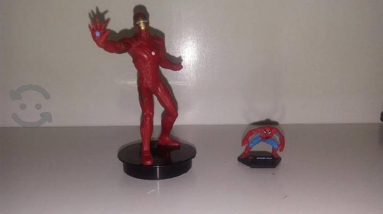 Ironman y spiderman mini