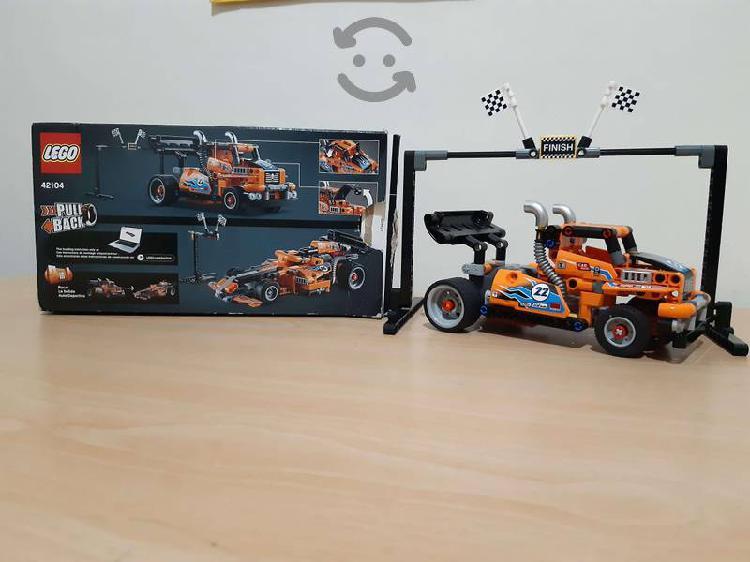 Lego technic 42104 camión de carreras (227 piezas)